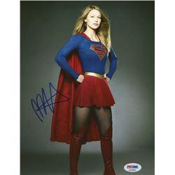 "Melissa Benoist Signed ""Supergirl"" 8x10 Photo (PSA Hologram)"