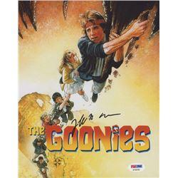 "Jeff Cohen Signed ""The Goonies"" 8x10 Photo (PSA Hologram)"