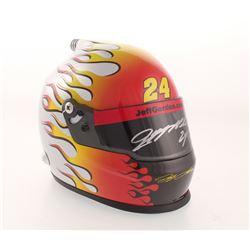 """Jeff Gordon Signed NASCAR """"24Ever"""" Career Highlight 1:3 Scale Mini-Helmet (Gordon Hologram)"""