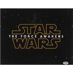"J. J. Abrams Signed ""Star Wars: The Force Awakens"" 11x14 Photo (PSA COA)"