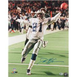 Deion Sanders Signed Dallas Cowboys 16x20 Photo (Beckett COA)