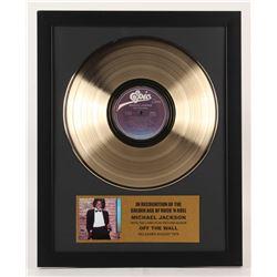 "Michael Jackson ""Off The Wall"" 15.75x19.75 Custom Framed Vinyl Record Album"