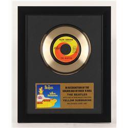 "The Beatles ""Yellow Submarine"" 12.5x15.75 Custom Framed Vinyl Record Album"
