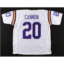 "Billy Cannon Signed Jersey Inscribed ""Heisman '59"" (Radtke COA)"