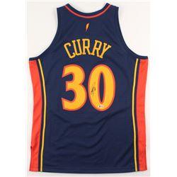 Stephen Curry Signed Golden State Warriors Jersey (Beckett COA)