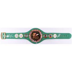 Mike Tyson  Evander Holyfield Signed WBC High Quality Replica Full-Size Belt (JSA COA)
