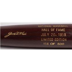 Zack Wheat LE Custom Engraved Louisville Slugger Powerized Hall of Fame Logo Baseball Bat