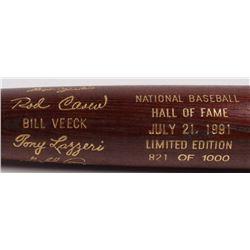LE Custom Engraved Louisville Slugger Powerized Hall of Fame Logo Baseball Bat with Rod Carew, Fergi