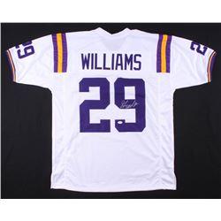 Greedy Williams Signed Jersey (TSE COA)