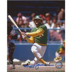 Reggie Jackson Signed Oakland Athletics 8x10 Photo (MAB Hologram)