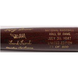 LE Custom Engraved Louisville Slugger Powerized Hall of Fame Logo Baseball Bat with Mickey Cochrane,