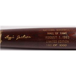 Reggie Jackson LE Custom Engraved Louisville Slugger Powerized Hall of Fame Logo Baseball Bat