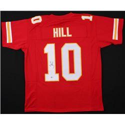 Tyreek Hill Signed Jersey (Beckett COA)