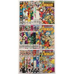 """Lot of (24) 1976-1985 """"The Avengers"""" 1st Series Marvel Comic Books with #153-254"""