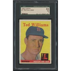 1958 Topps #1 Ted Williams (SGC 7)
