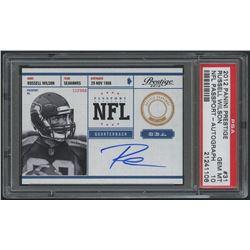 2012 Prestige NFL Passport Autographs #31 Russell Wilson (PSA 10)