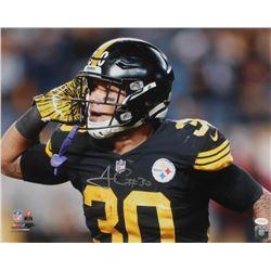 James Conner Signed Pittsburgh Steelers 16x20 Photo (TSE COA)