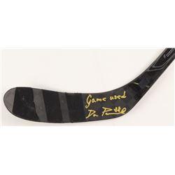 "David Pastrnak Signed Game-Used Nexus Hockey Stick Inscribed ""Game Used"" (Pastrnak COA)"
