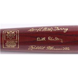 Louisville Slugger LE National Baseball Hall of Fame Inaugural Class of 1954 Engraved Baseball Bat