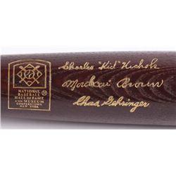 Louisville Slugger LE National Baseball Hall of Fame Inaugural Class of 1949 Engraved Baseball Bat