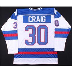 Jim Craig Signed Jersey (JSA COA)