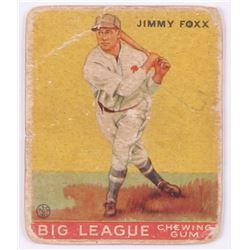 1933 Goudey #29 Jimmie Foxx RC