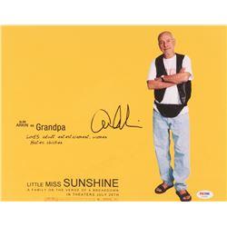 "Alan Arkin Signed ""Litte Miss Sunshine"" 11x14 Photo (PSA Hologram)"