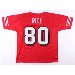 Jerry Rice Signed Jersey (PSA COA)