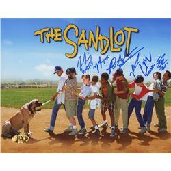 """The Sandlot"" 8x10 Photo Cast-Signed by (6) with Tom Guiry, Marty York, Shane Obedzinski, Victor DiM"
