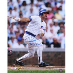 "Rafael Palmeiro Signed Chicago Cubs 16x20 Photo Inscribed ""3020 H / 569 HR's"" (MAB Hologram)"