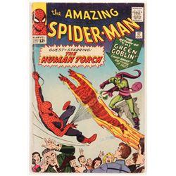 "1964 ""The Amazing Spider-Man"" #17 Marvel Comic Book"