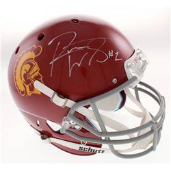 Robert Woods Signed USC Trojans Full-Size Helmet (Radtke COA)