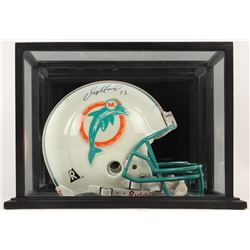 Dan Marino Signed Miami Dolphins Full-Size Authentic On-Field Helmet with Display Case (UDA COA)