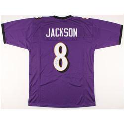 Lamar Jackson Signed Jersey (JSA COA)