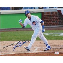 Kyle Schwarber Signed Chicago Cubs 11x14 Photo (PSA Hologram)