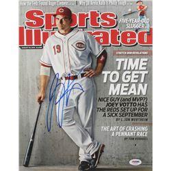 Joey Votto Signed Cincinnati Reds 11x14 Photo (PSA Hologram)