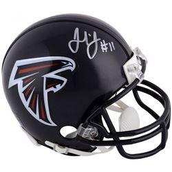 Julio Jones Signed Atlanta Falcons Mini-Helmet (Fanatics Hologram)