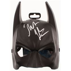 Christian Bale Signed Batman Mask (JSA COA)