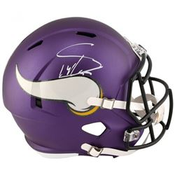 Stefon Diggs Signed Minnesota Vikings Full-Size Speed Helmet (Fanatics Hologram)