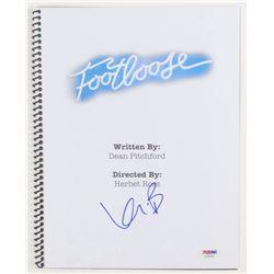 """Kevin Bacon Signed """"Footloose"""" Movie Script (PSA Hologram)"""