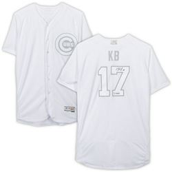 """Kris Bryant Signed Chicago Cubs LE Players Weekend Jersey Inscribed """"KB"""" (Fanatics Hologram)"""