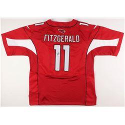 Larry Fitzgerald Signed Arizona Cardinals Super Bowl XLIII Jersey (PSA Hologram)