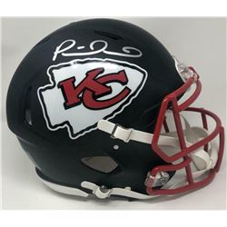 Patrick Mahomes Signed Kansas City Chiefs Full-Size Authentic On-Field Matte Black Speed Helmet (Fan