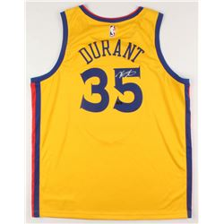 Kevin Durant Signed Golden State Warriors Jersey (Panini COA)