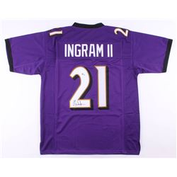 Mark Ingram Jr. Signed Jersey (Beckett COA)