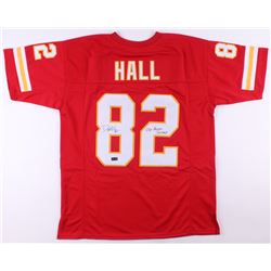 "Dante Hall Signed Jersey Inscribed ""OG Human Joystick"" (Radtke COA)"