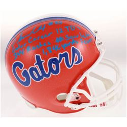 Jordan Scarlett Signed Florida Gators Full Size Helmet with Multiple Inscriptions (JSA COA)