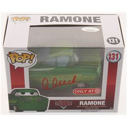 "Cheech Marin Signed ""Ramone"" #131 Disney ""Cars"" Funko Pop Vinyl Figure (JSA Hologram)"