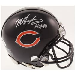 "Mike Singletary Signed Chicago Bears Mini Helmet Inscribed ""HOF 98"" (JSA COA)"