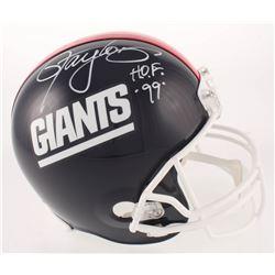 "Lawrence Taylor Signed New York Giants Throwback Full-Size Helmet Inscribed ""HOF 99"" (Beckett COA)"